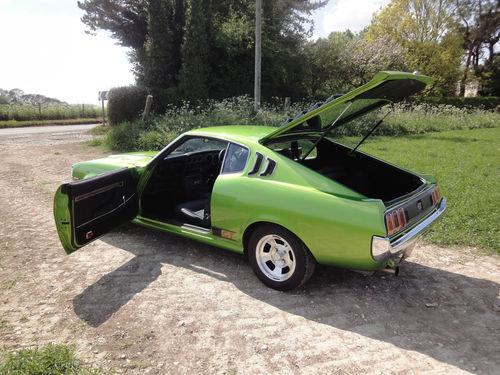 1977 Toyota Celica Liftback Doors Open