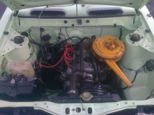 1973 Toyota Corolla KE20 1.2 Engine Bay