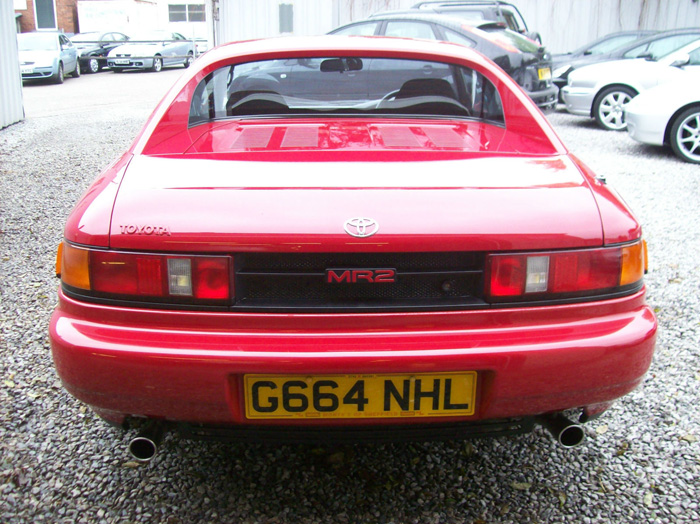 1990 Toyota MR2 MK2 2.0 Back