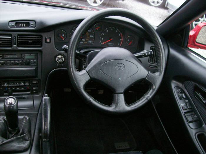 1990 Toyota MR2 MK2 2.0 Dashboard Steering Wheel
