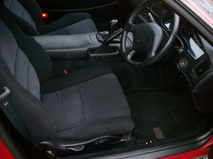 1990 Toyota MR2 MK2 2.0 Front Interior 2