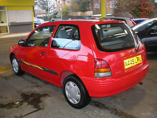 1996 toyota starlet sportif 1.3 automatic 5
