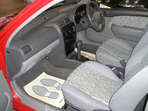 1996 toyota starlet sportif 1.3 automatic interior 2