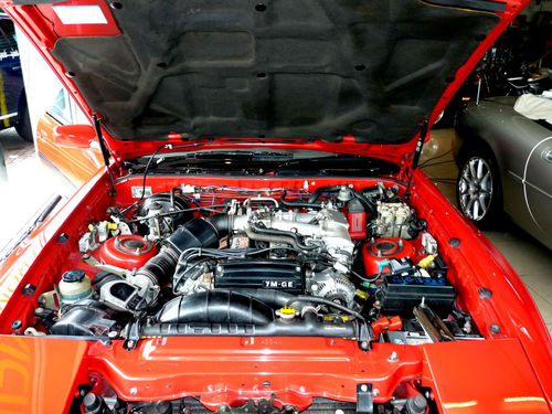 1987 Toyota Supra 3.0 Engine Bay