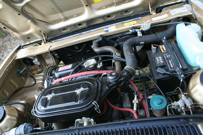 1984 Triumph Acclain 1.3 HLS Engine Bay 1