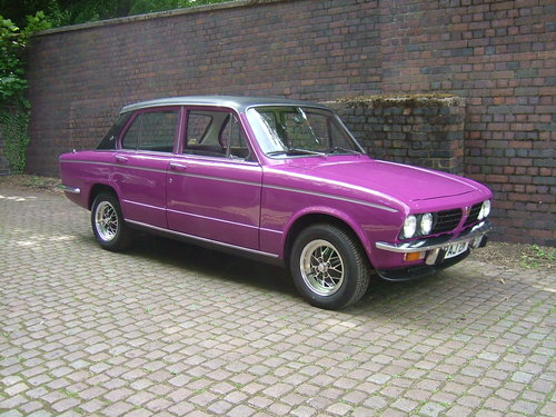1974 Triumph Dolomite Sprint Right Side