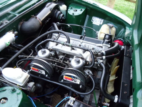 1977 triumph dolomite sprint engine bay