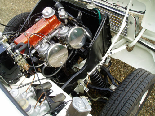 1967 Triumph Herald 1200 Engine Bay 1