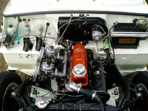 1967 Triumph Herald 1200 Engine Bay 2