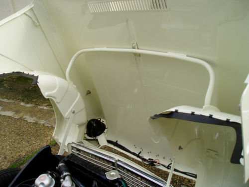 1967 Triumph Herald 1200 Under Bonnet