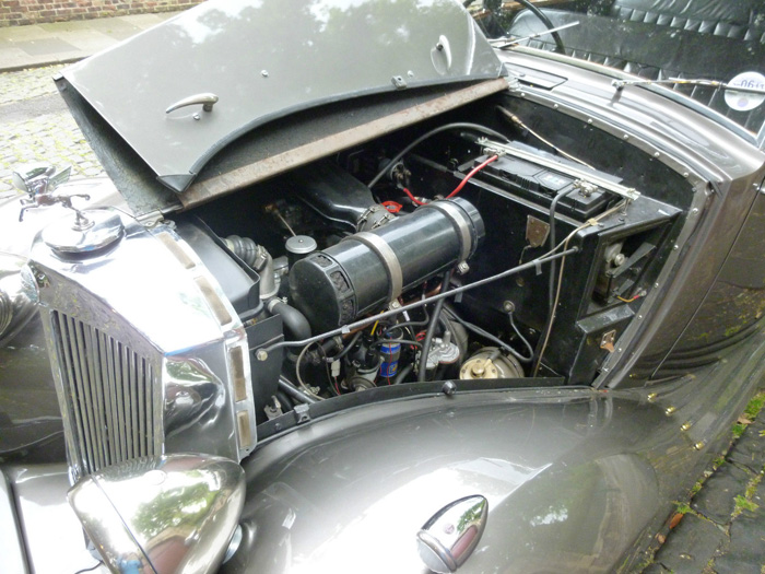 1954 Triumph Renown Razor Edge Engine Bay 2