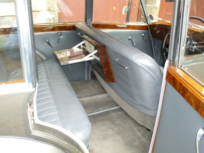 1954 Triumph Renown Razor Edge Rear Interior