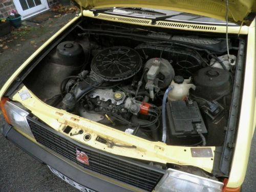 1982 Vauxhall Astra MK1 1300S Engine Bay