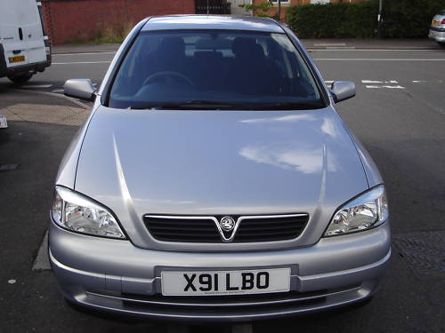 2000 vauxhall astra club auto grey 1