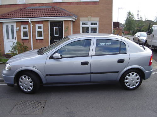 2000 vauxhall astra club auto grey 3