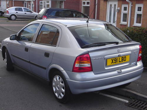 2000 vauxhall astra club auto grey 4