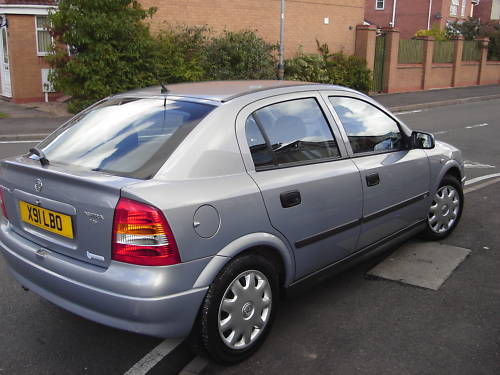 2000 vauxhall astra club auto grey 5