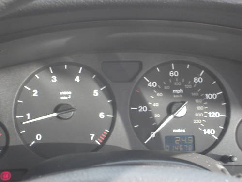2000 vauxhall astra club auto grey dashboard