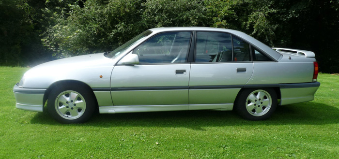 1989 Vauxhall Carlton GSi 3000 Side