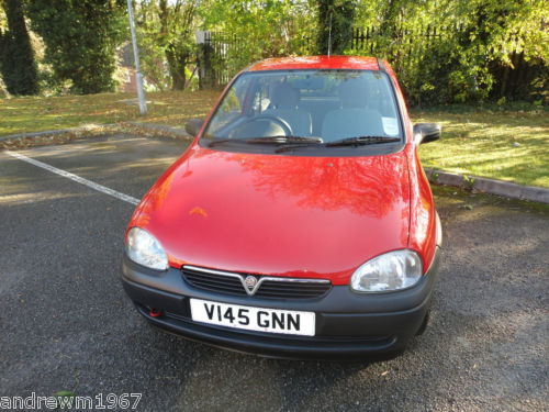 1999 vauxhall corsa front