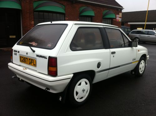 1987 vauxhall nova club white 6