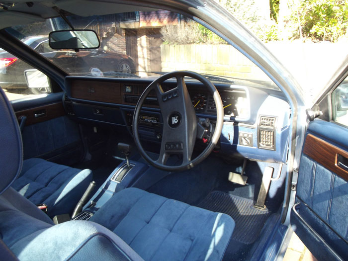 1980 Vauxhall Royale Coupe Front Interior
