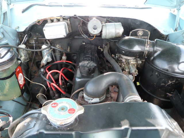 1958 Vauxhall Victor F Type Estate Engine Bay