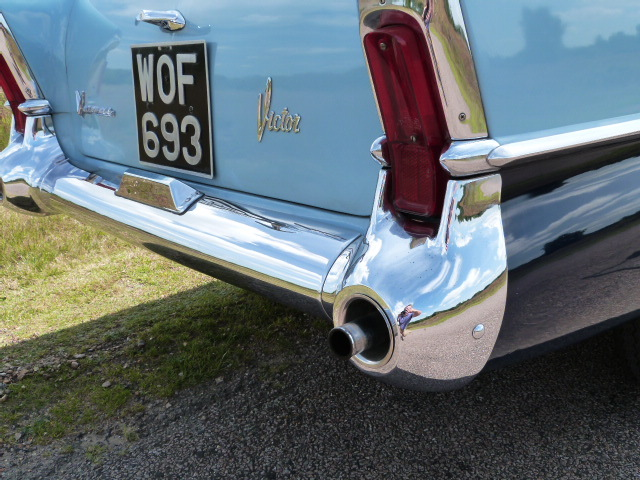 1958 Vauxhall Victor F Type Estate Exhaust