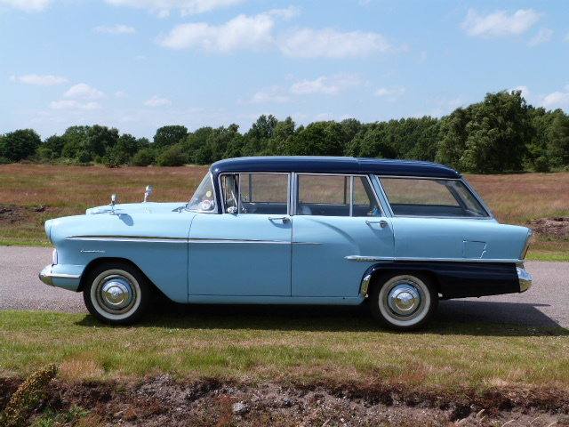 1958 Vauxhall Victor F Type Estate Left Side