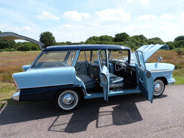 1958 Vauxhall Victor F Type Estate Right Side Doors Open