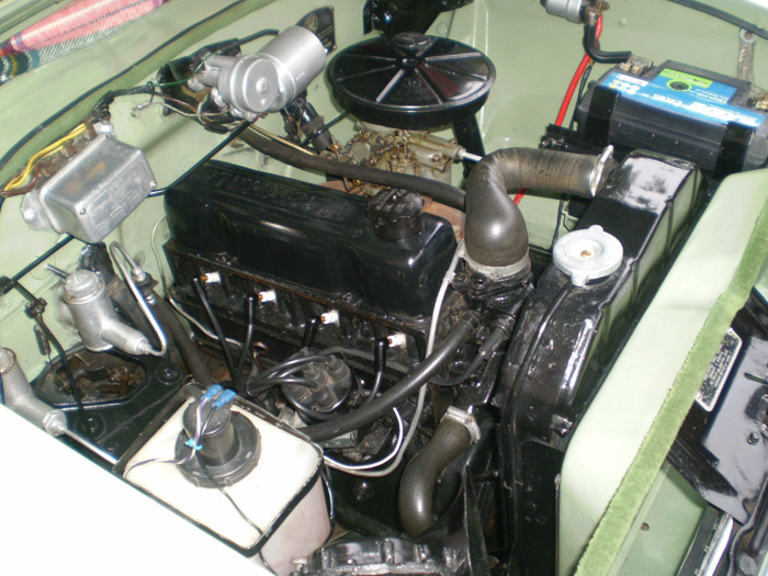 1959 Vauxhall Victor Super Series 1 Engine Bay