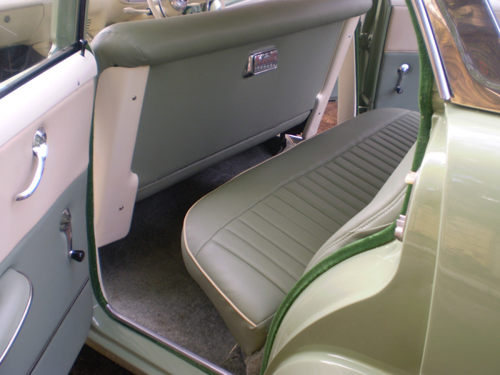 1959 Vauxhall Victor Super Series 1 Rear Interior