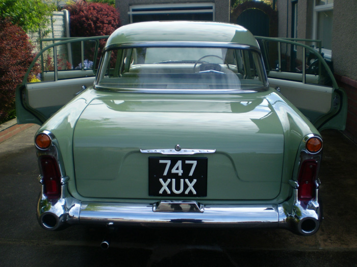 1959 Vauxhall Victor Super Series 1 Rear