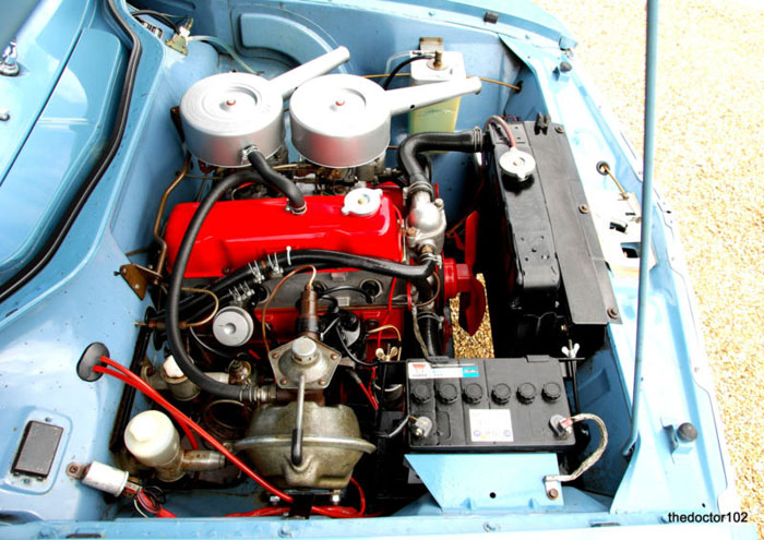 1963 vauxhall victor fb vx 4 90 engine bay