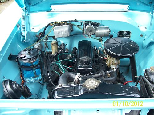 1959 Vauxhall Victor F Type Deluxe Engine Bay