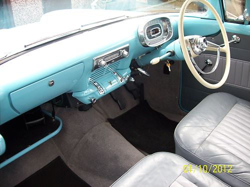 1959 Vauxhall Victor F Type Deluxe Front Interior