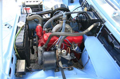 1966 Vauxhall Viva HA 90 Deluxe Engine Bay