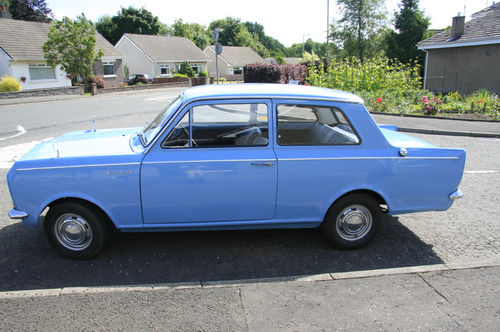 1966 Vauxhall Viva HA 90 Deluxe Left Side