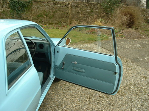 1975 Vauxhall Viva HC Interior Door