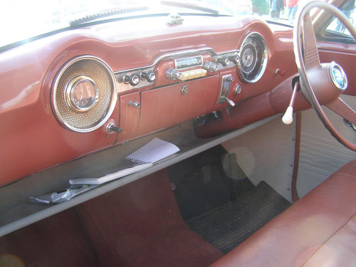 1956 Vauxhall Wyvern Interior Dashboard
