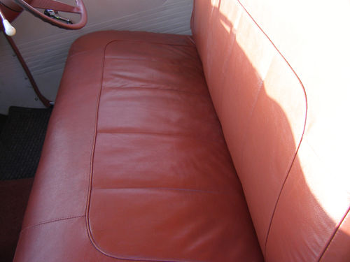 1956 Vauxhall Wyvern Rear Seat