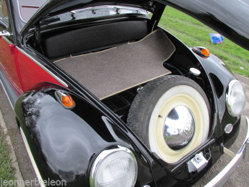 1961 Volkswagen Beetle 1200 Boot