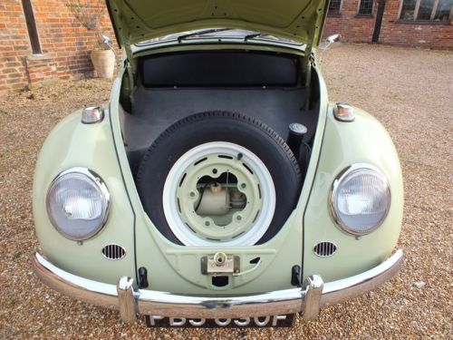 1967 Volkswagen Beetle 1500 Boot