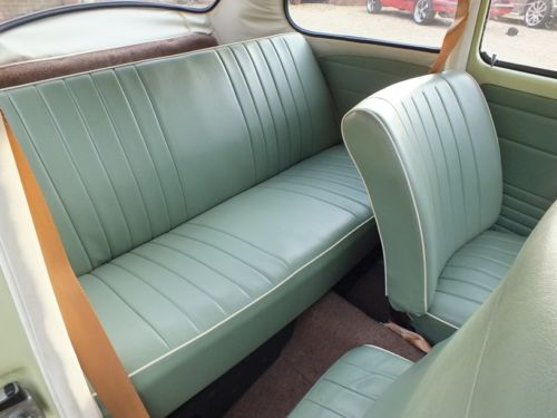 1967 Volkswagen Beetle 1500 Rear Interior