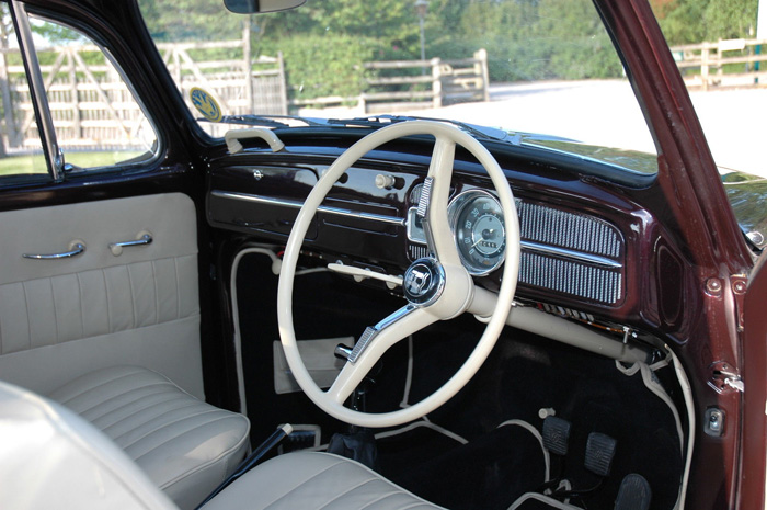 1965 Volkswagen Beetle 1600 Dashboard Steering Wheel