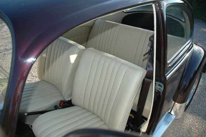 1965 Volkswagen Beetle 1600 Interior Seats