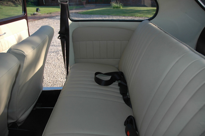 1965 Volkswagen Beetle 1600 Rear Interior