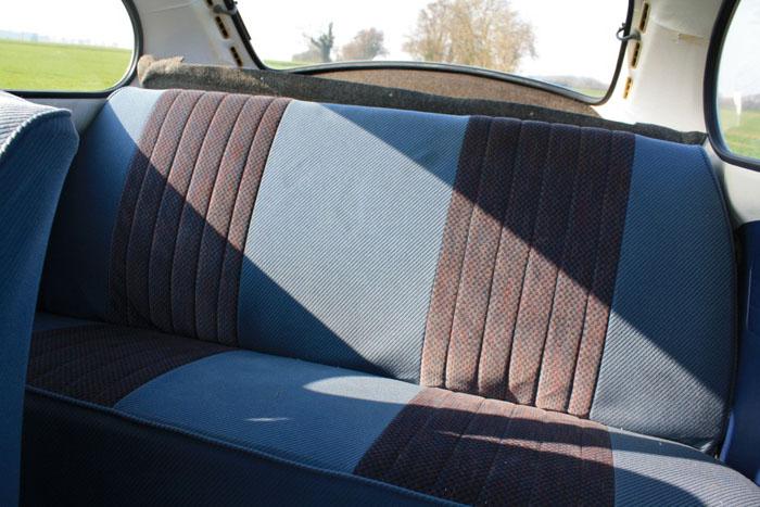 1978 vw beetle no.300 of 300 interior 2