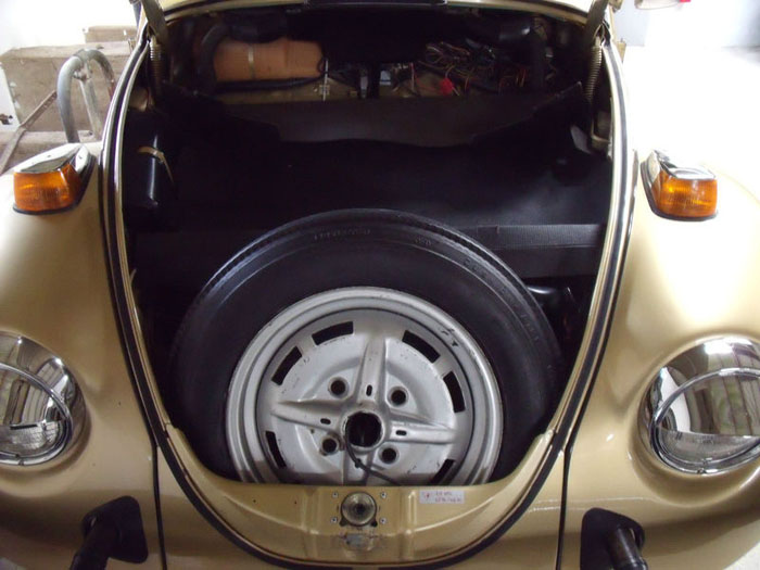 1974 classic volkswagen vw sun bug beetle limited edition boot