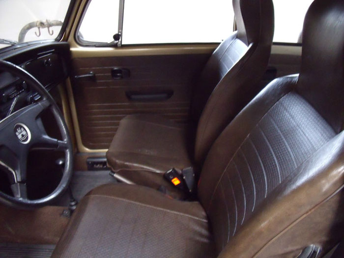 1974 classic volkswagen vw sun bug beetle limited edition interior 1